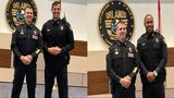 Two former professional athletes sworn in as Orlando police officers