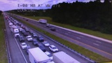 Vehicle rollover shuts down part of I-95 NB in Flagler County