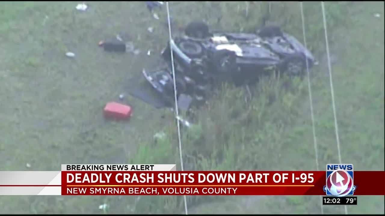 2 killed in I-95 Volusia rollover crash, troopers say