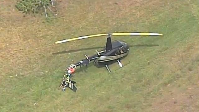 Helicoper in Orlando near Kirkman