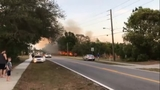 Deltona Brush Fire Facebook Video