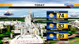 Hot, humid Sunday ahead for Central Florida
