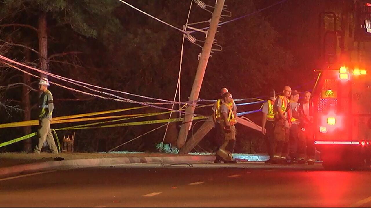 19 Year Old Man Killed When Car Splits In 2 In Orange