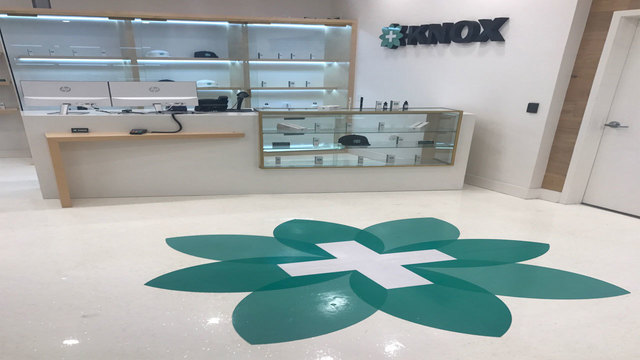 Knox Medical inside store