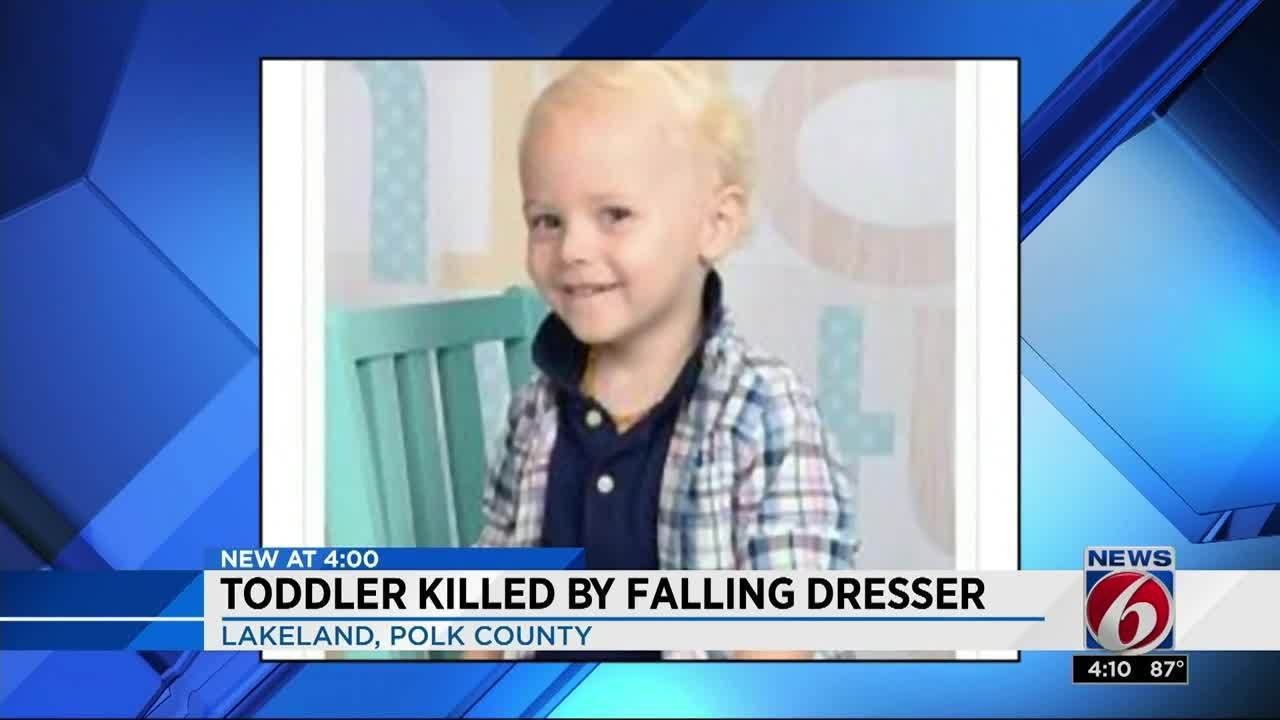 2 Year Old Central Florida Boy Killed By Falling Dresser