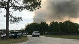 20-acre brush fire burns in Geneva