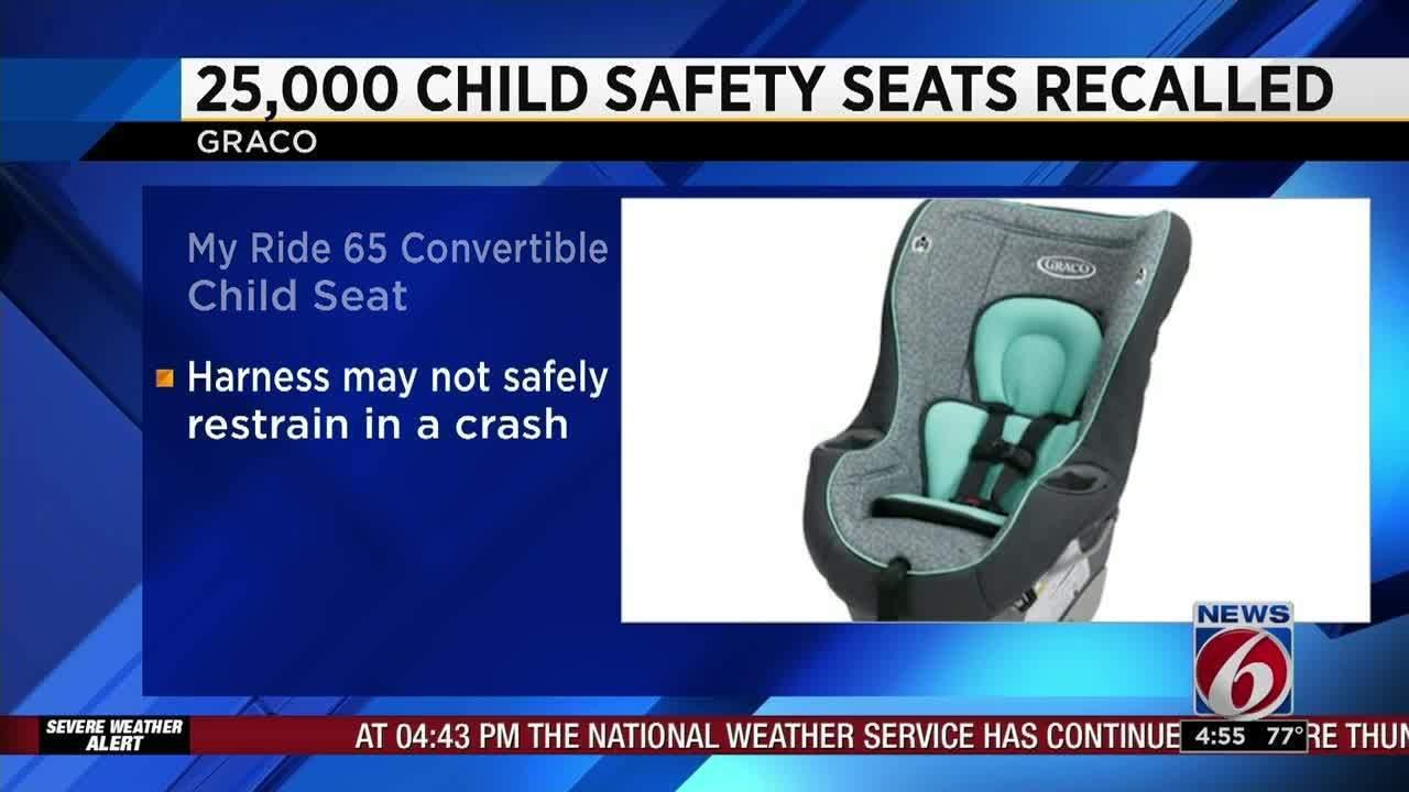 Graco Recalls 25,000 Car Seats
