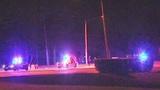 Fiery crash knocks out power in Orange County