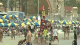 Beaches Crowded For Memorial Day