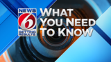 News 6 What You Need to Know: Death penalty dispute, car split in half