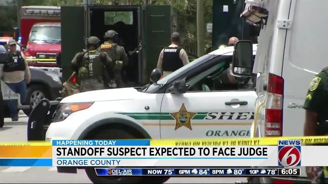 Winter Garden Barricade Suspect To Appear In Court
