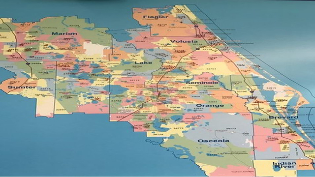 Central Florida hurricane shelters map