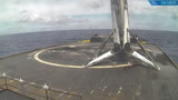 For the second time, SpaceX launches flight-proven rocket, sticks landing