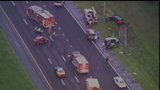 Crash slows I-4 in Volusia County