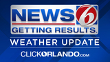News 6 evening weather update -- 7/23/17