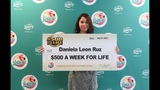 Orlando teenager wins $500 a week for life