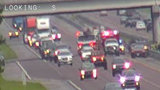 2 NB I-95 lanes shut down following crash, officials say