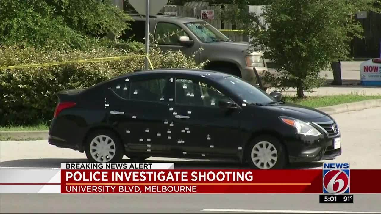 Car riddled with bullets in Melbourne, 2 shot