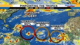 Tropical waves swirl in Atlantic