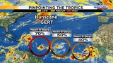3 tropical waves strengthen in Atlantic