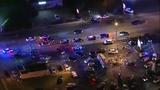 Sky 6 flies over Kissimmee after 2 officers were fatally shot