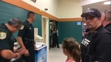 Osceola Sheriff's Office sings to fallen officer's daughter