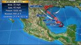Harvey regains tropical storm strength in Gulf
