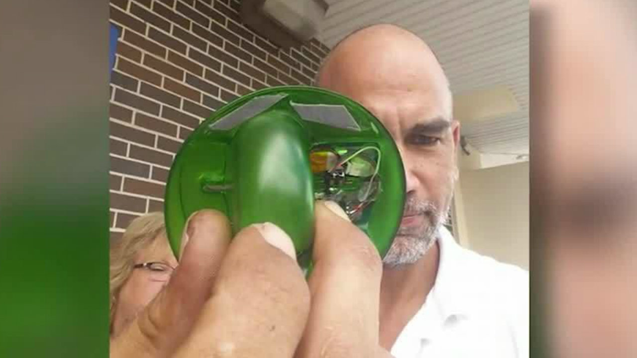 Man finds ATM skimmer