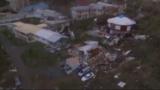 Hurricane Maria strikes Dominica
