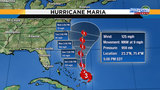 Weekend rain chances pick up&#x3b; Maria to bring rough seas