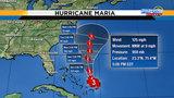 Weekend rain chances pick up&#x3b; Maria to bring rough seas