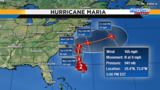 Maria still roiling Central Florida beaches&#x3b; Lee becomes hurricane