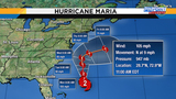 Maria still roiling Central Florida beaches&#x3b; Lee becomes hurricane