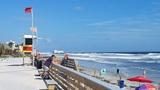 Hurricane Maria causes rough surf at Daytona Beach
