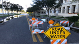Sanford roads shut down due to floodwaters