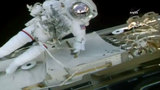 Former Florida teacher set for spacewalk