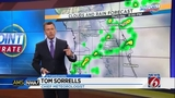 Dry Friday, cold front through weekend