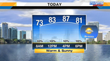 Central Florida to feel mild temps, slight breeze Saturday