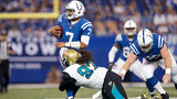 Bortles, Jaguars' D sacks Colts 27-0 to stay atop division