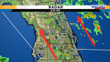 Rainy conditions to continue ahead of cold front in Central Florida