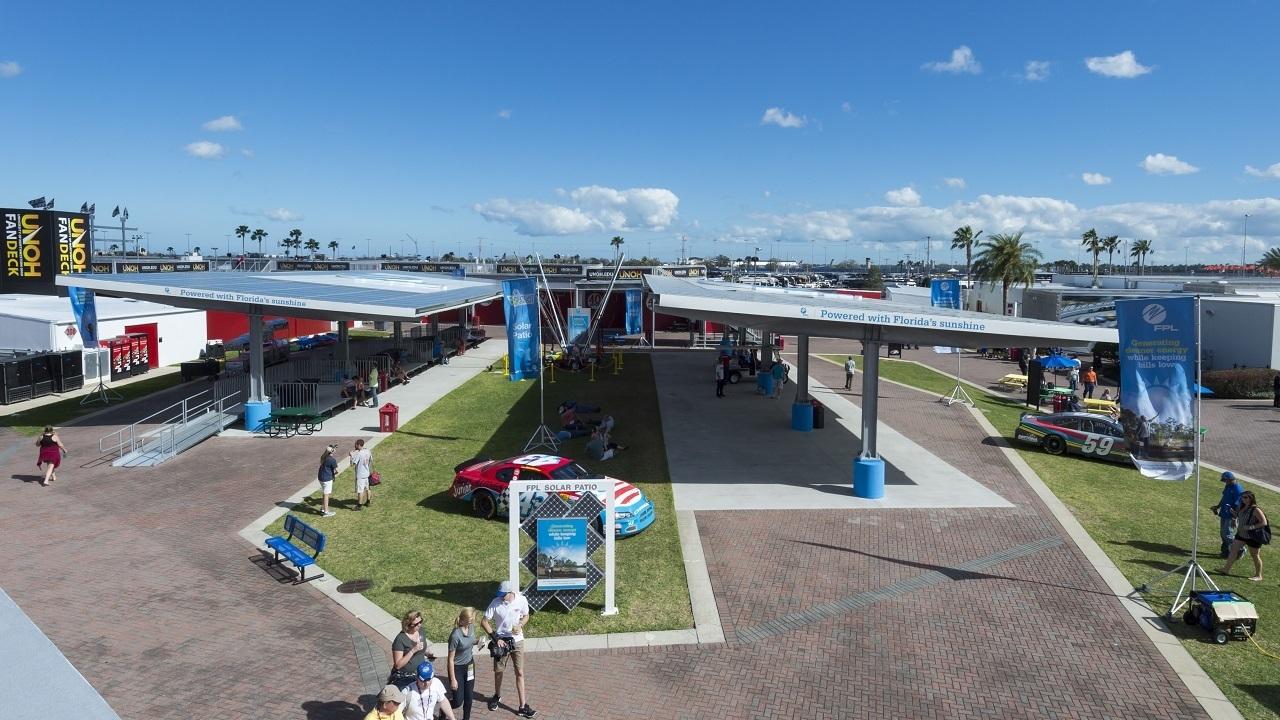 Daytona International Speedway Making Solar Energy History