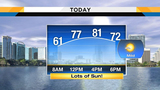 Sunshine-filled Saturday expected in Central Florida once fog clears