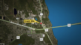 Train, tractor-trailer collide in Brevard County