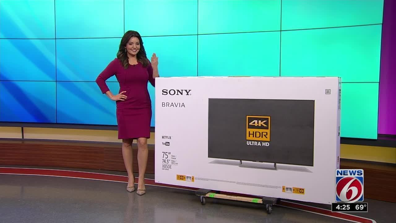 12 Days of Giveaways: Sony 4K TV