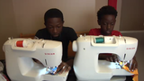 Brothers start clothing line to help support family after father's death