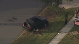 5-year-old girl pinned under car in Orange County