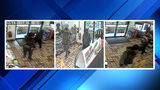 Men caught on surveillance camera in connection with Subway robbery