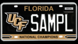 Florida lawmakers file bill for 'UCF National Champions' license plate