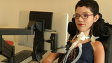 Eye tracking technology helps disabled Floridians communicate with their eyes