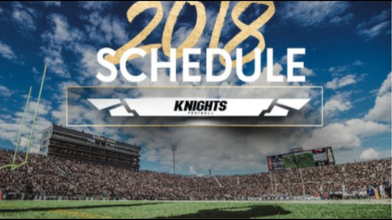 Ucf New Head Coach >> UCF football releases 2018 schedule